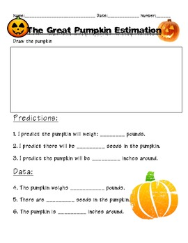 The Great Pumpkin Estimation