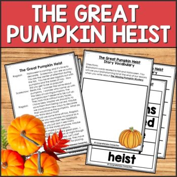 Partner Play: The Great Pumpkin Heist