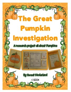 The Great Pumpkin Investigation: A research project all about pumpkins