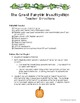 The Great Pumpkin Investigation for Middle School Students