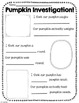 The Great Pumpkin Packet-Pumpkin literacy activities with