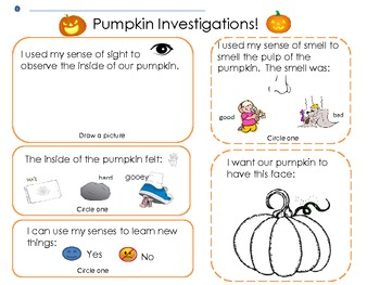 The Great Pumpkin Reading, Math and Science Mini Unit
