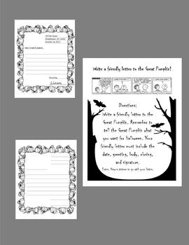 The Great Pumpkin Writing Bundle