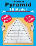 The Great Pyramid 3D Model Craft