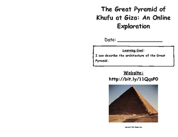 The Great Pyramid of Khufu at Giza: An Online Exploration