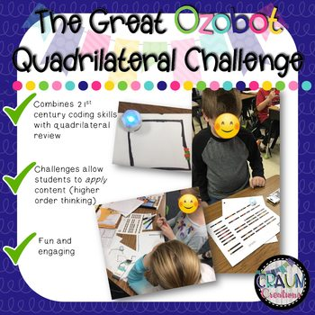 The Great Quadrilateral Ozobot Challenge