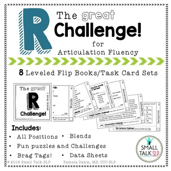 The Great R Challenge for Articulation Fluency