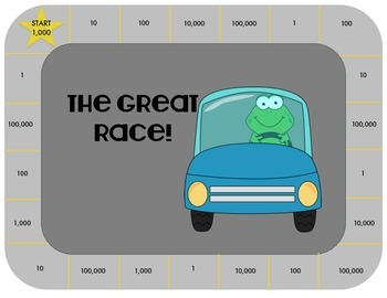 The Great Race:  A Place Value Game to 1,000,000