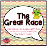 The Great Race (Speech Therapy Book Companion)