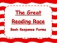 The Great Reading Race Literacy Center - Candy Cane Waves
