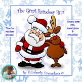 The Great Reindeer Run: Fictional story with printables &