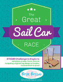 The Great Sail Car Race | STEAM, Maker Space, Engineering