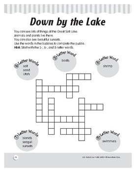 The Great Salt Lake: Reading, Puzzles, and Comprehension for Grades 1–3