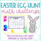 The Great Easter Egg Hunt Challenge: 2 Digit Addition & Subtraction