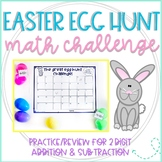 The Great Second Grade Easter Egg Hunt Challenge: 2 Digit