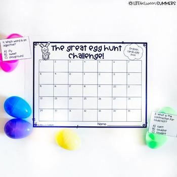The Great Second Grade Easter Egg Hunt Challenge: Bundle