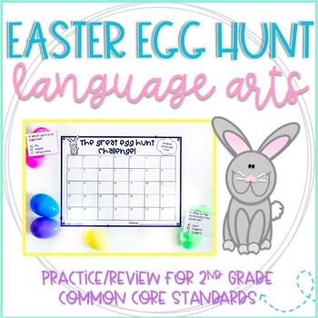 The Great Second Grade Easter Egg Hunt Challenge: ELA