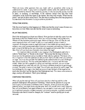 The Great Shakespeare Festival (Presentation)