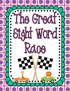 The Great Sight Word Race