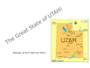 The Great State of Utah