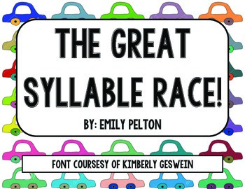 The Great Syllable Race!
