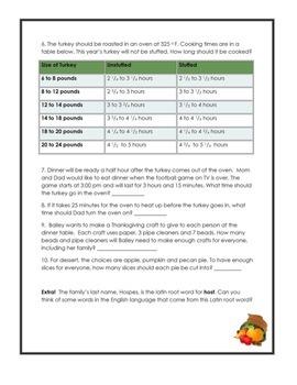 Fun FREE Thanksgiving Activities-