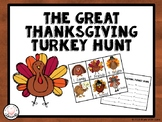 The Great Thanksgiving Turkey Hunt!