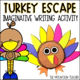 Turkey Escape Writing Prompt | Thanksgiving Activity