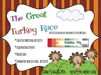 HOLIDAY: Thanksgiving-'The Great Turkey Race, Literacy and