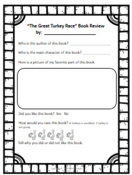 The Great Turkey Race Literary Unit