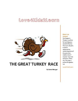 The Great Turkey Race Readers Theater