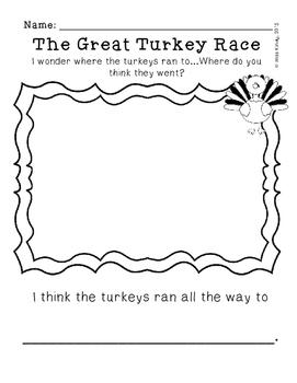 The Great Turkey Race Supplemental Worksheet