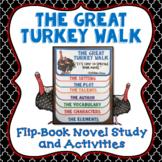 The Great Turkey Walk, Book Study, Flipbook, Activities