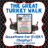 The Great Turkey Walk, Questions for Every Chapter, Answer Key Included