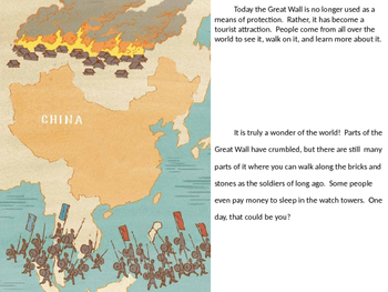 The Great Wall Engage NY second grade reading PPT