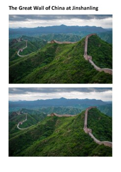 The Great Wall of China Handout