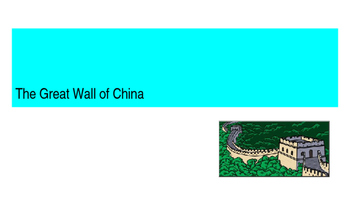 The Great Wall of China Presentation