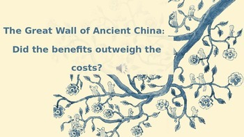 The Great Wall of China Vocab Powerpoint- WITH Music!