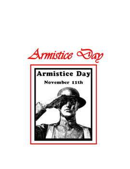 The Great War Centennial ~ Veterans Day November 11th
