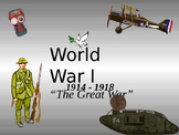 The Great War - WWI PPt