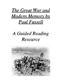 The Great War by Paul Fussell: A Guided Reading
