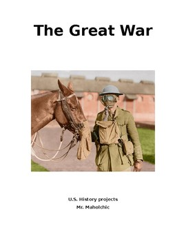 The Great War classroom project