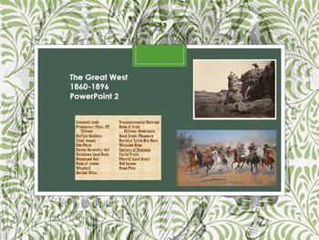 The Great West 1860-1896 2