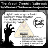 The Great Zombie Outbreak (A Digital Breakout and Mini Classroom Transformation)