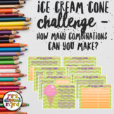 The Great and Mysterious Ice Cream Challenge-How Many Comb