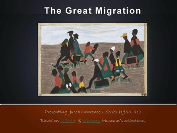 The Great migration - J.Laurence art work