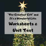 The Greatest Gift and It's a Wonderful Life Bundle: Worksh