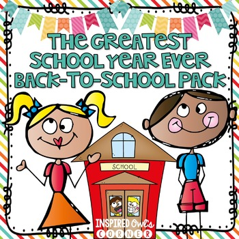 Back to School Paper Bag Scrapbook and Printables