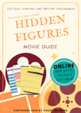 Hidden Figures (2016) Movie Guide Packet + Activities + Sub Plan + Best Value