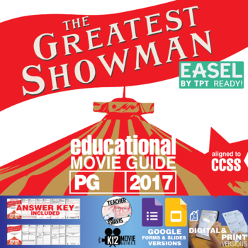 ... The Greatest Showman Movie Guide | Questions | Worksheet (PG   2017)